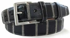 Robert Charles Patchwork Belt - Black - Robert Charles Belt - Made In Italy