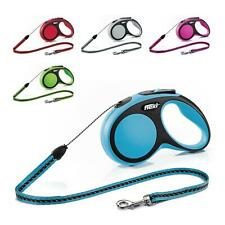 Flexi Comfort Cord Lead Dog Leash Retractable with Brake XS/S/M up to 20kg
