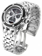 Invicta SWISS Reserve Specialty Subaqua Twisted Metal Carbon Fiber Chrono Watch