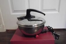 VINTAGE TOASTESS 2QT AUTO STAINLESS STEEL ELECTRIC TEA KETTLE #701 1500W CANADA