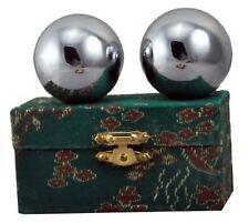 Chinese Stainless Steel Plain Chi Balls, Hand Massage Balls, Hand Massaging B...