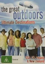 THE GREAT OUTDOORS: ULTIMATE DESTINATIONS – DVD, USA, UK, NEW ZEALAND, 155 MINS