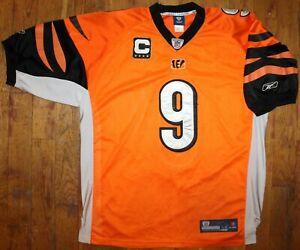 2003-11Reebok Cincinnati Bengals #9 Carson Palmer Captain Alternate Jersey