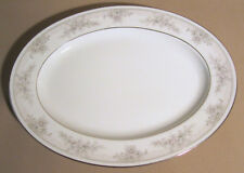 """Noritake Sweet Leilani 3482 Small Oval Serving Platter 11 1/2"""" EXCELLENT"""