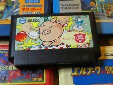 GAME/JEU FAMICOM NINTENDO NES JAPANESE Ochin ni Toshi Puzzle Tonjan NMK JT **