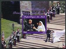 More details for mali 2018 mnh prince harry & meghan royal wedding 1v impf m/s royalty stamps