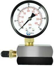 Gas Test Pressure Gauge 60 Pound 60 Psi 400kpa 34 Fnpt Connection Assymbly