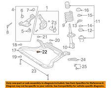 Saturn GM OEM 01-05 L300 Front Suspension-Engine Cradle Retainer 90575594