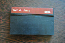 Jeu TOM and JERRY THE MOVIE pour Sega MASTER SYSTEM (CARTOUCHE SEULE)
