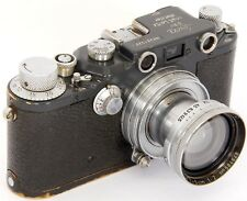 ORIGINAL Leica IIIc Grey Military 391527K W.H. with Summitar f=5cm 1:2 Lens