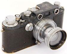 ORIGINAL Leica IIIc Grey Military 391527K W.H. with Summitar f=5cm 1:2 Lens