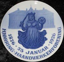 1926 Royal Copenhagen intende eller/commemorative Plate #237