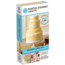 NEW!!  Cricut cartridge Martha Stewart Elegant Cake Art! Use with all cricuts!!