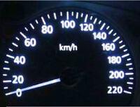 White LED Dash Gauge Light Kit for Holden WB HQ Sedan Wagon Van Ute Statesman
