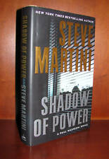Shadow of Power by Steve Martini**Signed 1st Edition** 10 9 8 7 6 5 4 3 2 1 VGC