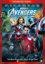 The Avengers (Blu-ray DISC only, 2012,in DVD Case)W/slip cover