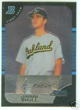 Jimmy Shull Tampa Bay 2005 Bowman Chrome Draft R/C