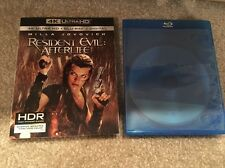 Resident Evil:After Life Bluray Disc+Blank Bluray Case+Slip Cover(No Digital HD)