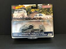 Hot Wheels Team Transport Porsche 356A Outlaw and VW T1 Transporter Pickup 2019