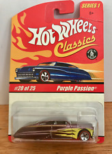 2005 HOT WHEELS CLASSICS SERIES 1 - PURPLE PASSION #20 MOC - Free Shipping