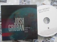 Josh Groban ‎– Below The Line Reprise ‎Records UK CDr Promo CD Single