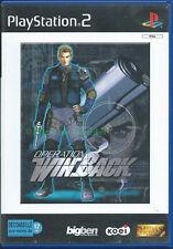 Jeu PS2  Opération Winback - Playsation 2