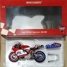 MINICHAMPS Ducati 999R F03 WSB Ruben Xaus Team Fila 2003 VERY RARE!!!