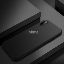 0.3mm Black Slim Matte PP Ultra-Thin Back Skin Cover Case Bag For Apple iPhone X