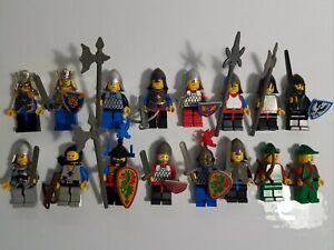 Lego Vintage Knights Forest People Minifigs Lot