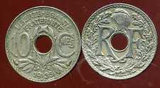 FRANCE   FRANCIA   10 centimes  1935  LINDAUER