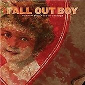 Fall Out Boy My Heart Will Always Be The B-Side To My Tongue CD & DVD Great Cond