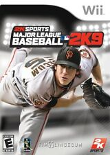 Major League Baseball 2K9 WII New Nintendo Wii