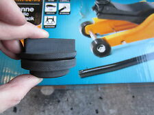 BMW TROLLEY JACK ADAPTER for HALFORDS low profile trolley Jack or classic car
