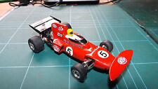 SCALEXTRIC STP MARCH 721 F1 Car - Complete & With New Rear Tyres - Rare !