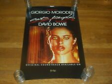 David Bowie Giorgio Morodor cat people 23 x 35 Movie Poster original 1982