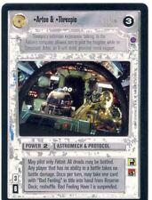Star Wars CCG Reflections II Ex. Uni. Premium Artoo & Threepio
