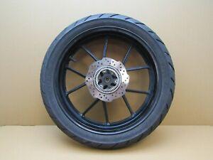 Suzuki GSX-R125 AL8 2019 3,692 miles rear wheel with tyre and brake disc (5686)