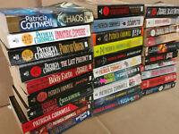 Lot of 10 Patricia Cornwell PAPERBACK Mystery Scarpetta BRAZIL ETC Books RANDOM