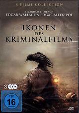 Ikonen des Kriminalfilms (8 Filme auf 3 DVD´s) - neu & ovp - Edgar Wallace.....