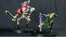 Leyenda de Zelda-Link & scervo Skyward Sword ESTATUA/FIGURA Set-Nuevo Sellado