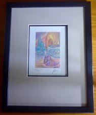 "JERRY GARCIA signed autograph original #197/500 ""Northern Lights"" lithograph"