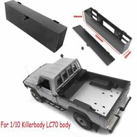CC HAND Metal Battery Box Case for 1/10 Killerbody LC70 Body RC Truck No Battery