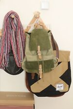 Leather and Suede Vintage Rucksack