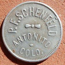ANTONITO Colorado TOKEN ⚜️ P. F. Schenfeld UNLISTED