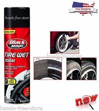 Black Magic Tire Wet Foam Auto Car Care Cleaner Extreme Shine for Wheels 18 oz