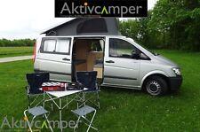 Campingbus Camper Wohnmobil VW Bus Bulli mieten mit 4 Sitzplätze u Aufstelldach