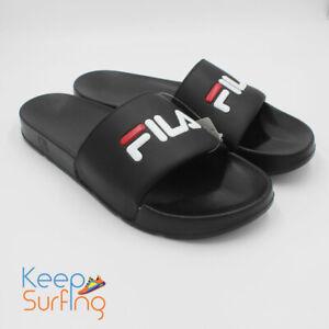 Fila Drifter Black Men's Slides UK 12  🔥🔥