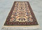 Authentic Hand Knotted Vintage Morocco Wool Area Rug 3 x 2 Ft (11279 KBN)