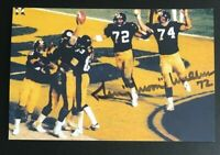 GERRY MULLINS NFL Pittsburgh Steelers Auto Autographed Signed 4x6 Photo 4