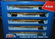 BLMA 12004, N-Scale Trinity 53' 5-unit Spine Car TTAX #555135 --NEW--